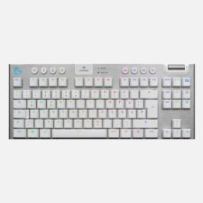 G915 TKL – LOGITECH – GL TACTILE SWITCHES – BLANC – CLAVIER GAMING SANS FIL AZERTY FR